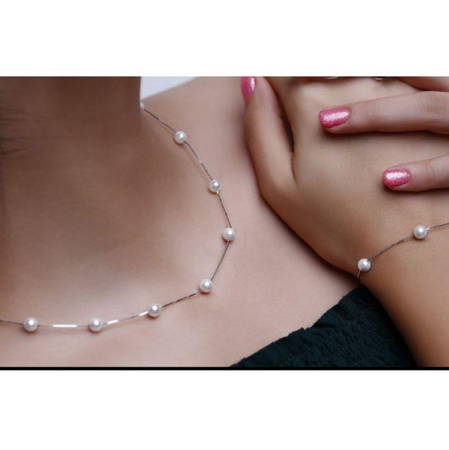 ست گردنبند و دستبند S129